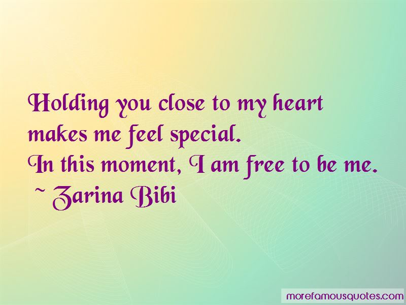 You Makes Me Feel Special Quotes Pictures 4