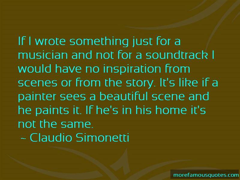 Beautiful Scene Quotes