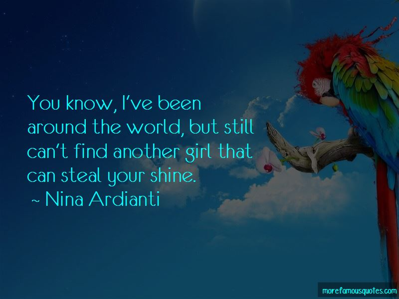 Been Around The World Quotes