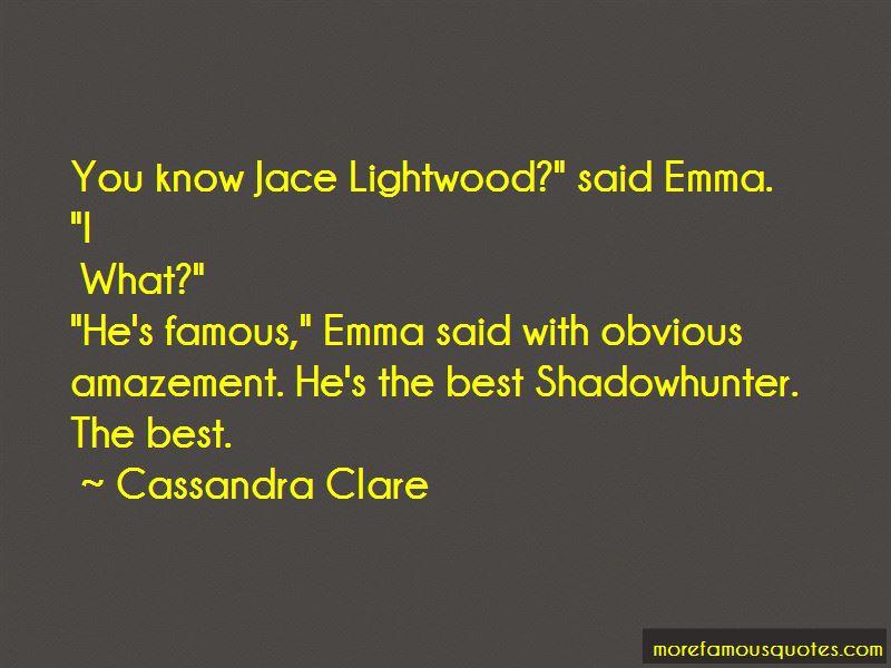 Best Jace Lightwood Quotes