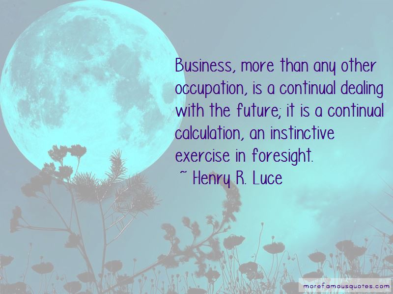 Business Foresight Quotes Pictures 2