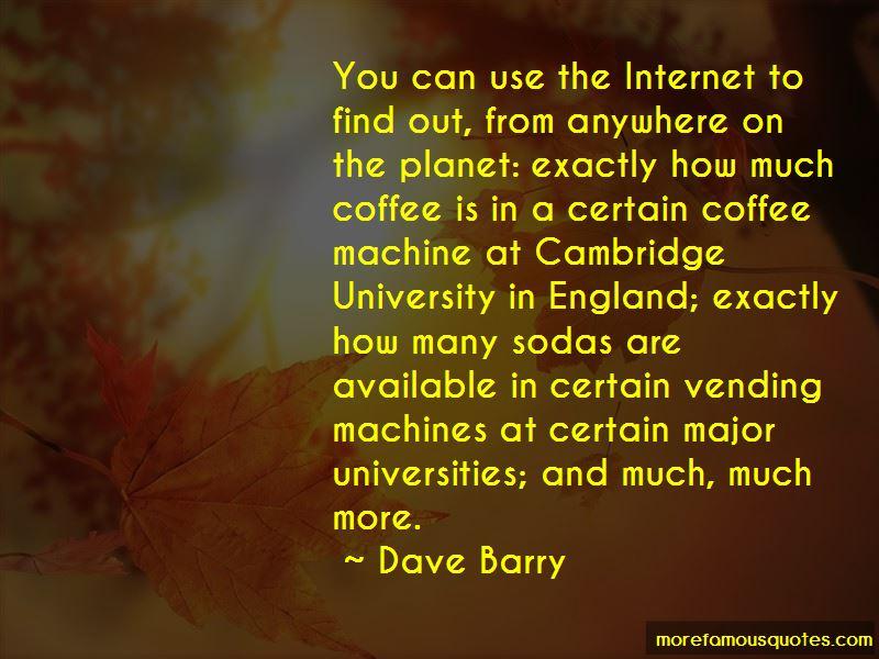 Coffee Vending Machine Quotes