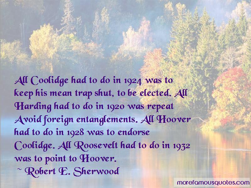 Coolidge Quotes