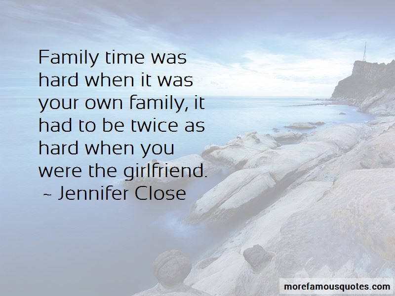 Family Hard Time Quotes Pictures 3