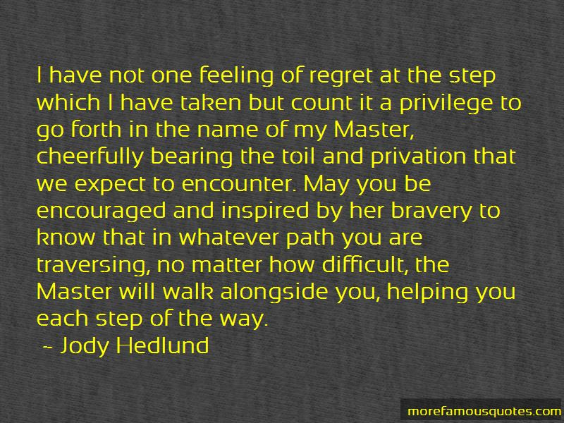 Feeling Of Regret Quotes