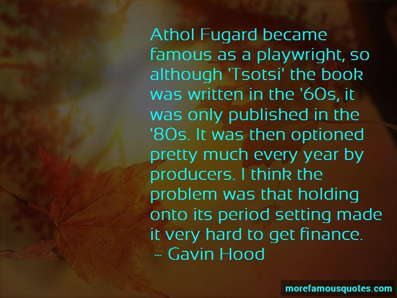 Fugard Quotes