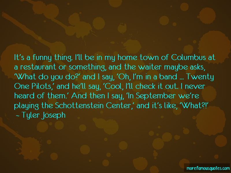 Funny Out Of Town Quotes