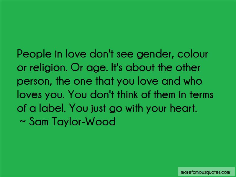 Go With Your Heart Quotes