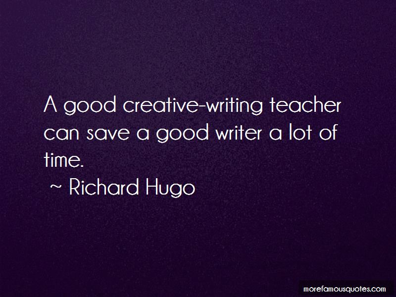 Good Creative Writing Quotes