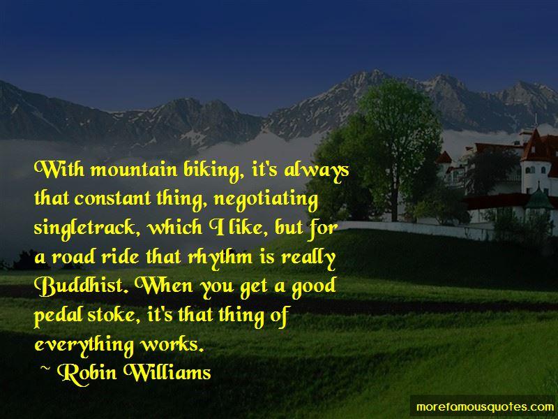 Good Mountain Biking Quotes