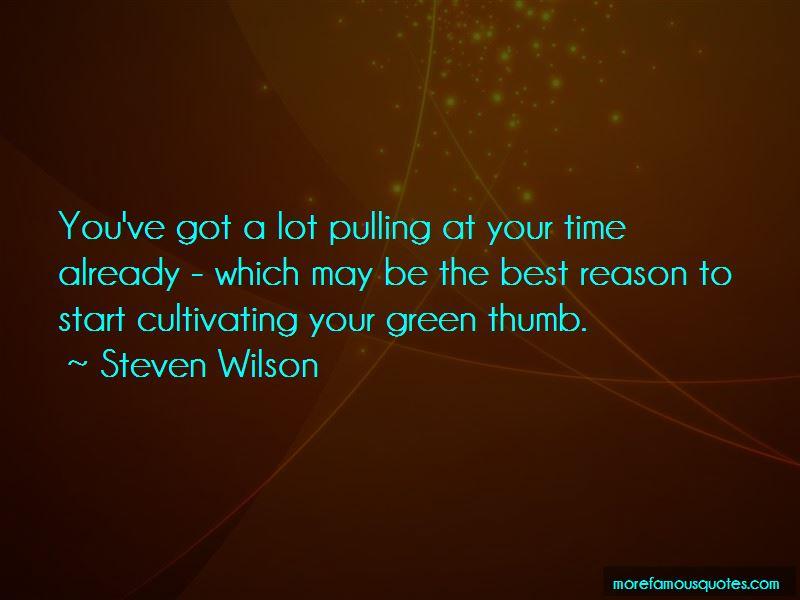 Green Thumb Quotes