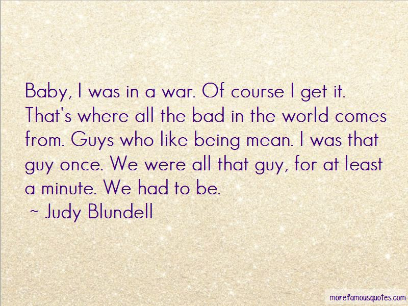 Guys Being Mean Quotes