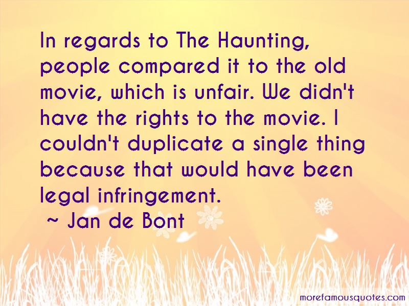 Haunting Quotes: Haunting Movie Quotes: Top 1 Quotes About Haunting Movie