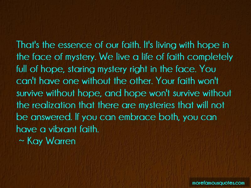 Hope And Hope Quotes