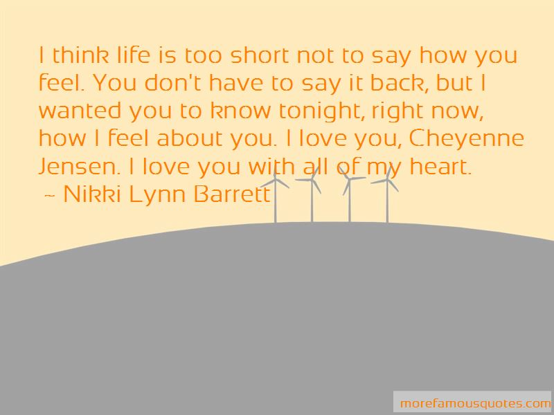 I Love You With All My Heart Short Quotes Pictures 4