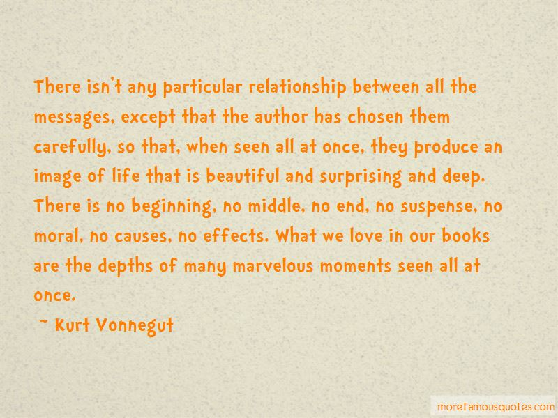 In The Beginning Relationship Quotes