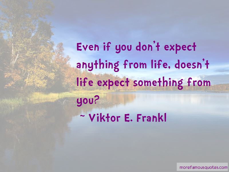 Life Expect Quotes