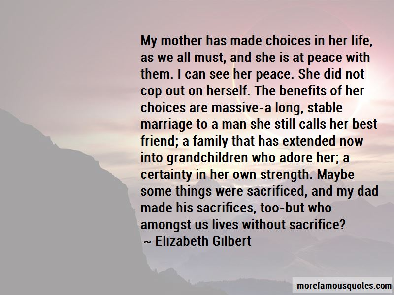 Life Is All About Sacrifice Quotes Pictures 3