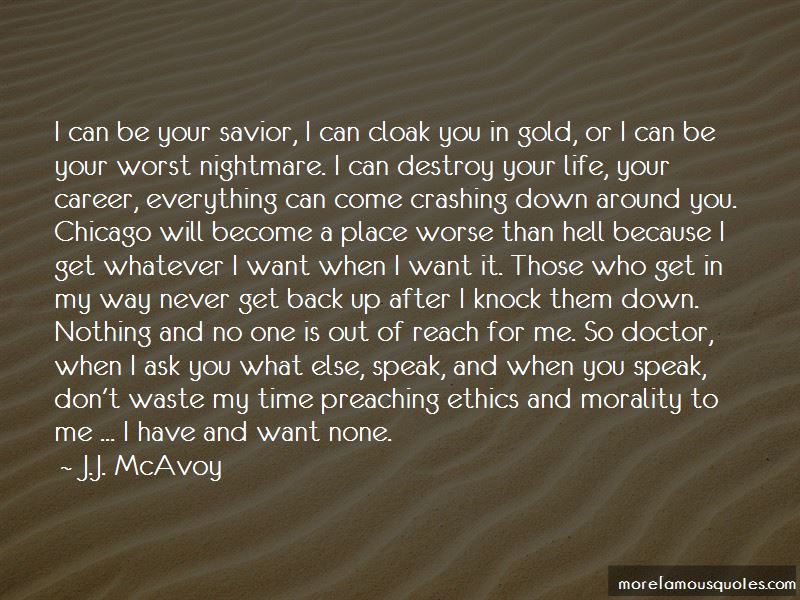 Life Knock Me Down Quotes