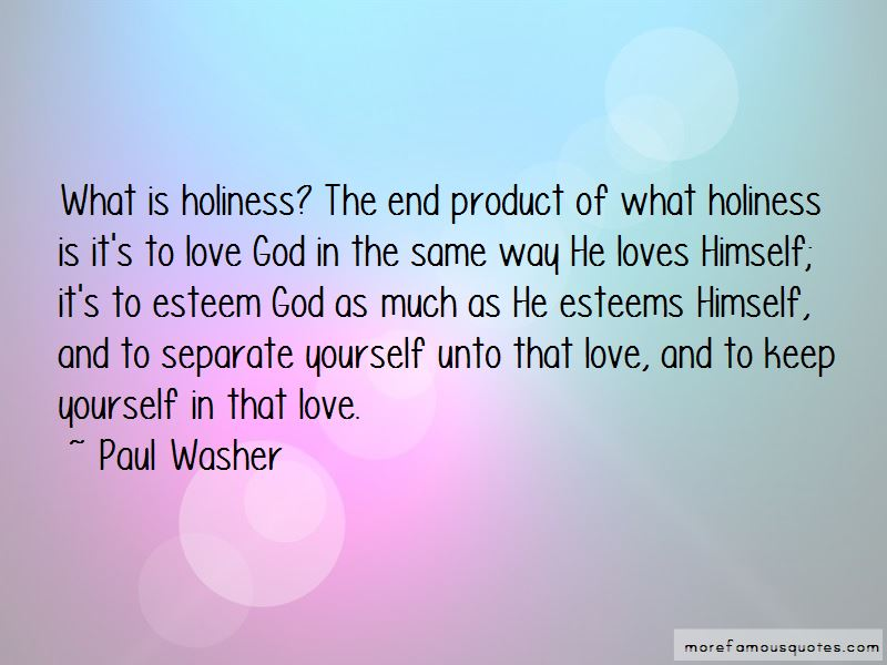 Love Holiness Quotes Pictures 2