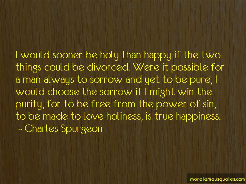 Love Holiness Quotes
