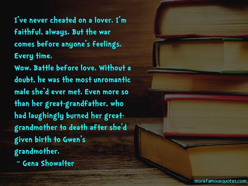Love In The Time Of War Quotes