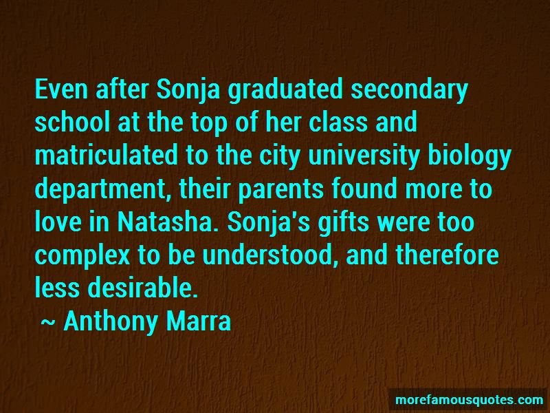 Matriculated Quotes