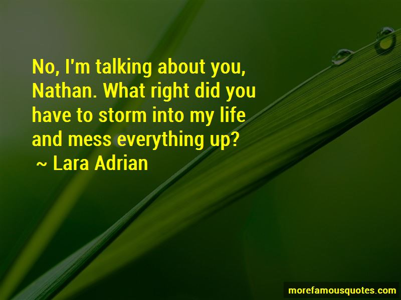Mess Everything Up Quotes