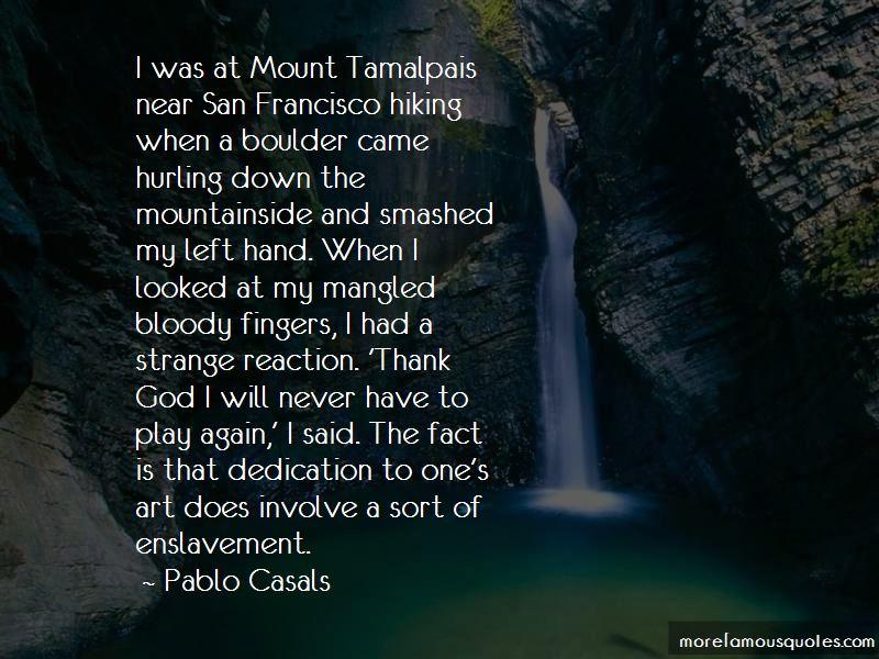 Mt Tamalpais Quotes