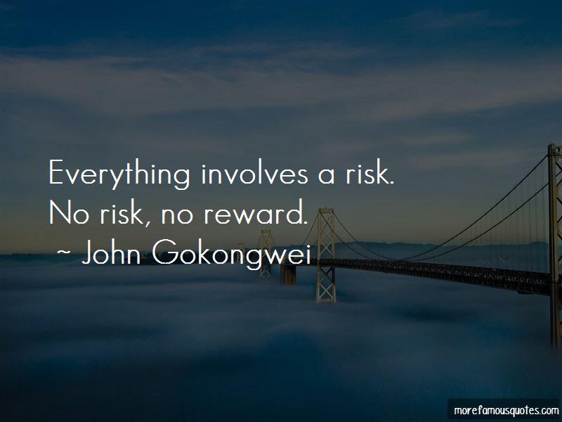 No Risk No Reward Quotes