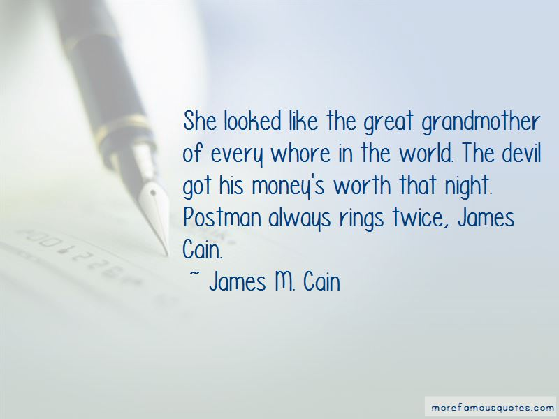 Postman Rings Twice Quotes