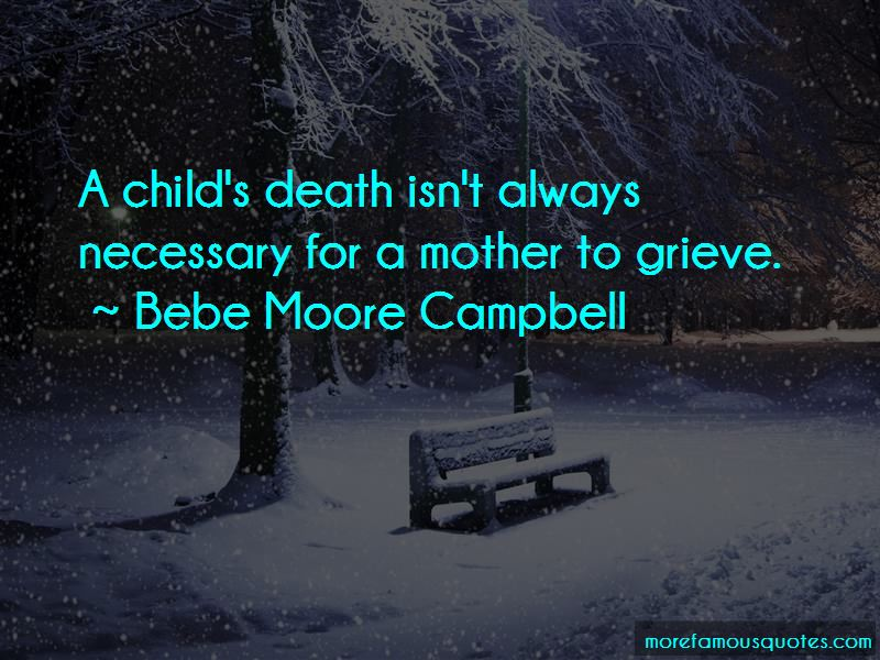 Quotes About A Child's Death