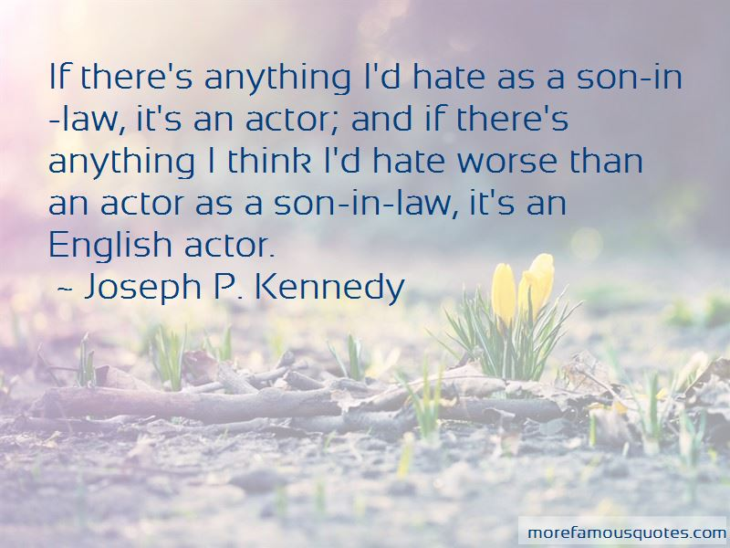 Quotes About A Son In Law