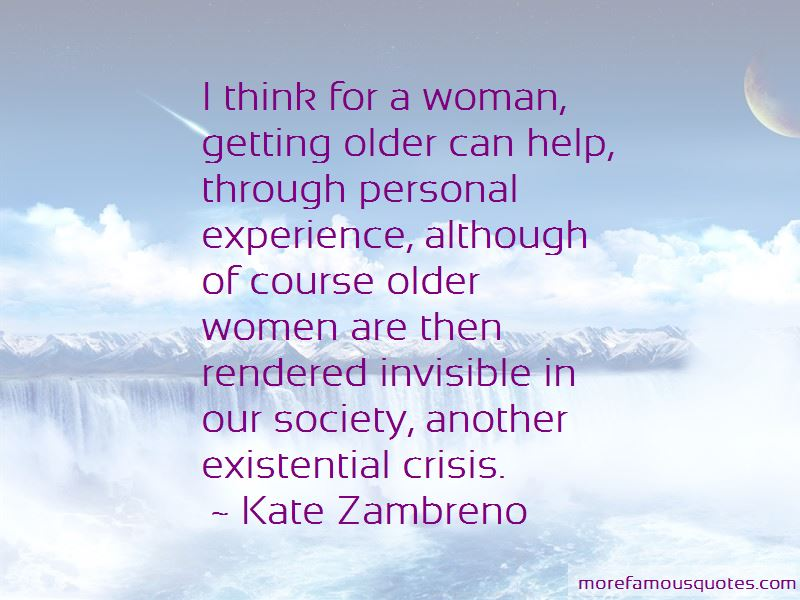 Quotes About A Woman Getting Older