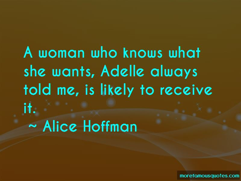 Quotes About A Woman Who Knows What She Wants
