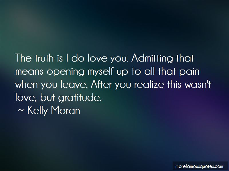 Quotes About Admitting Love