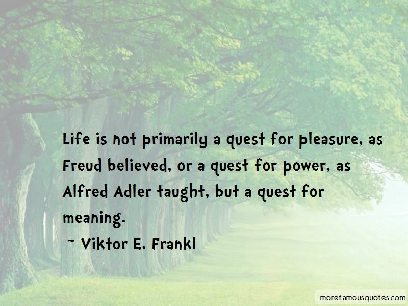 Quotes About Alfred Adler