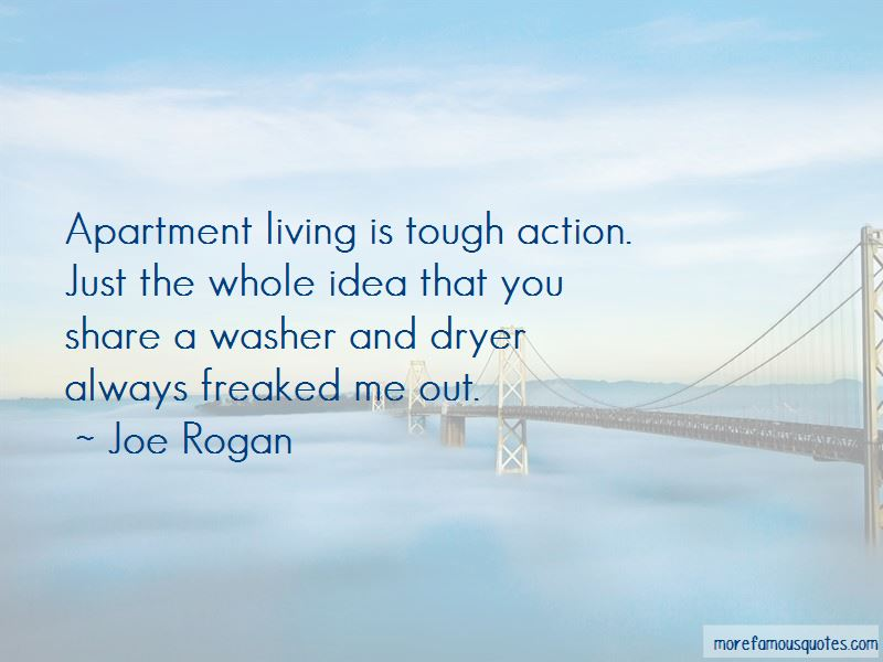 Quotes About Apartment Living
