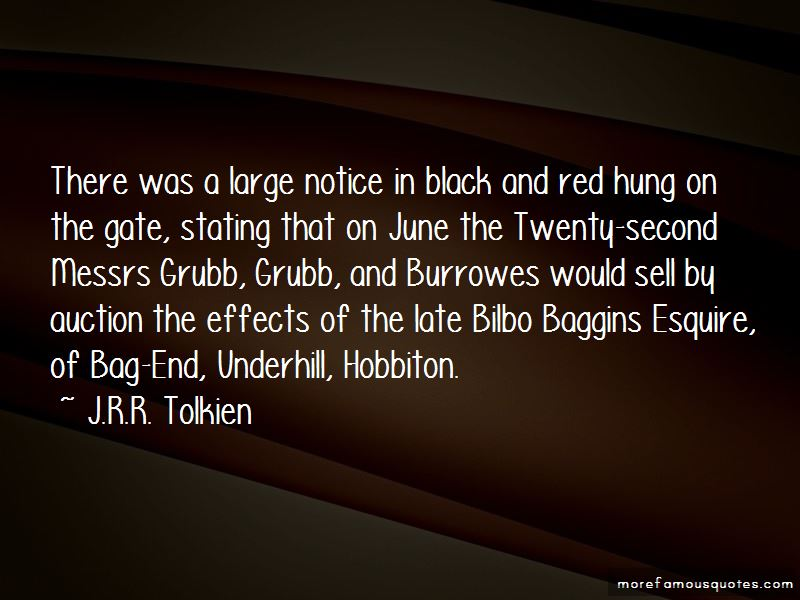 Bag End Quotes Pictures 2