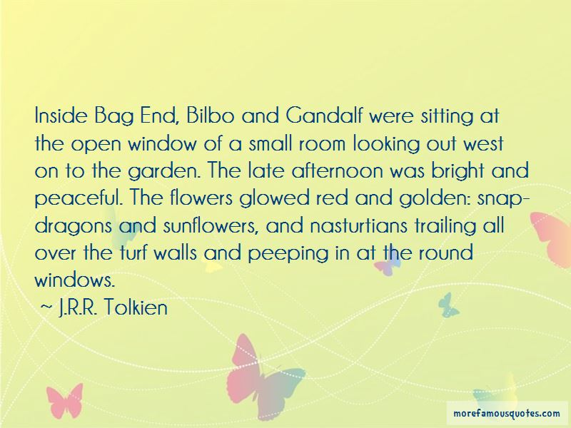 Quotes About Bag End