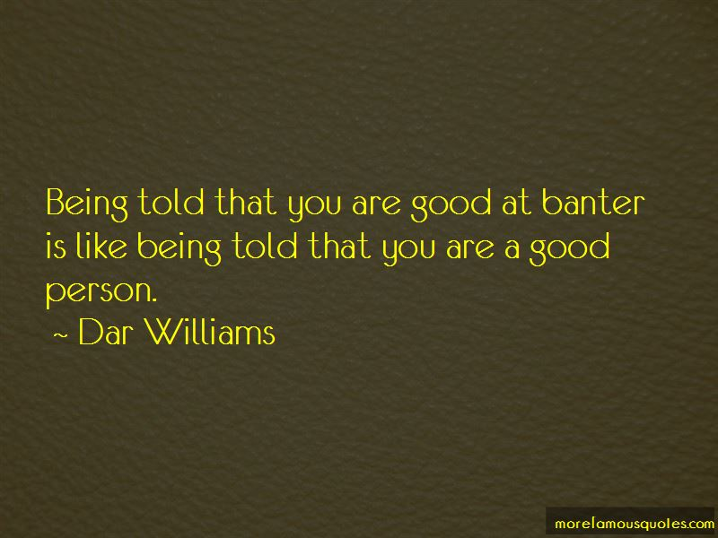 Quotes About Banter