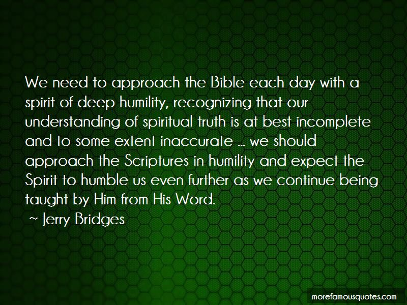 Quotes About Being Humble Bible