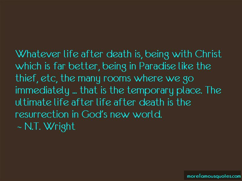 Quotes About Being In A Better Place After Death