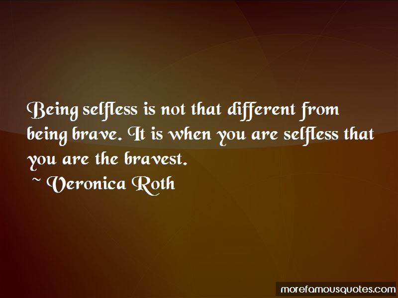 Quotes About Being Selfless