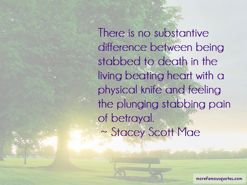 Being Stabbed In The Heart Quotes Pictures 3