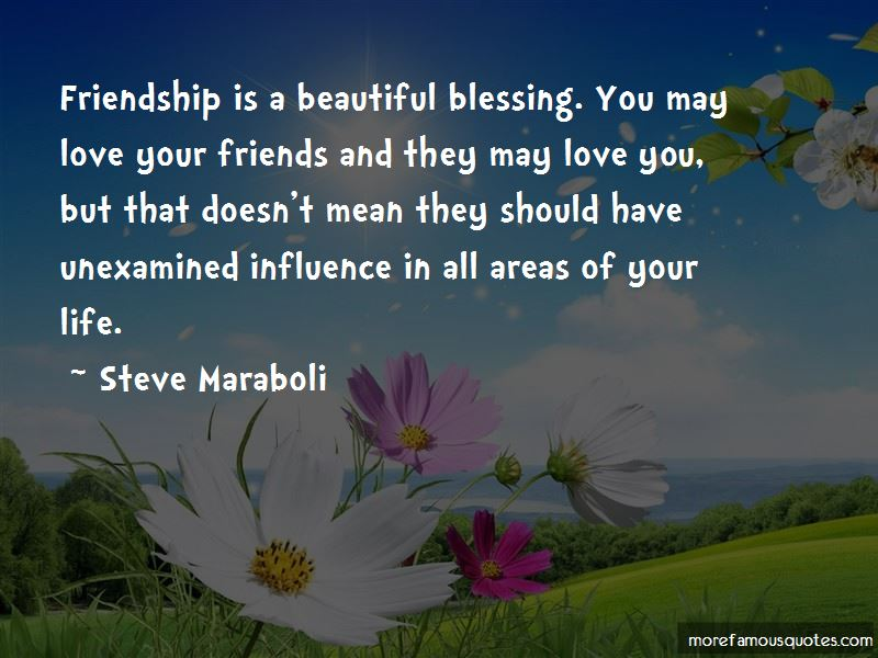 Quotes About Blessing Of Friendship