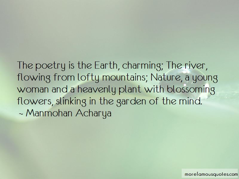 Quotes About Blossoming Flowers