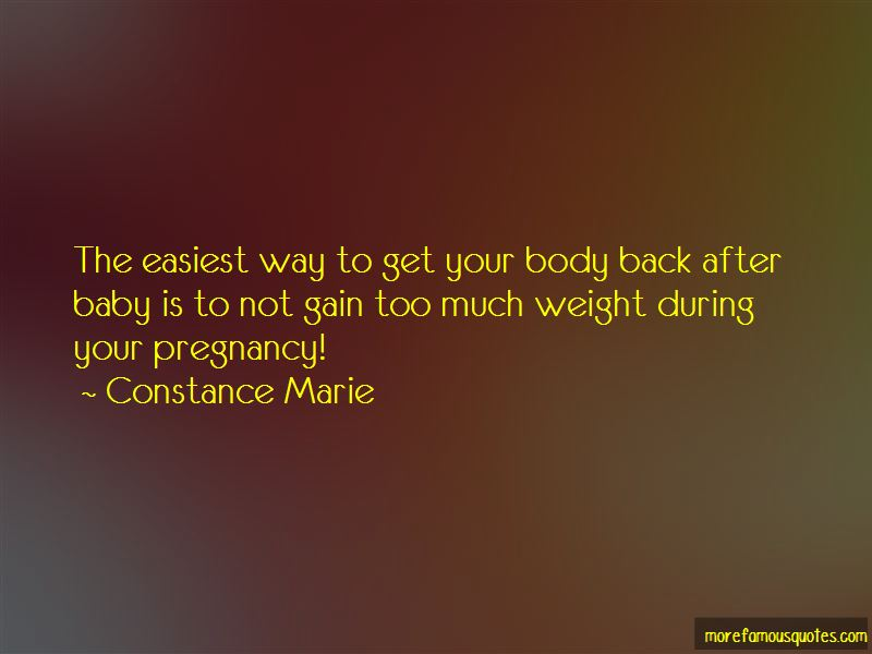 Body After Baby Quotes Pictures 4