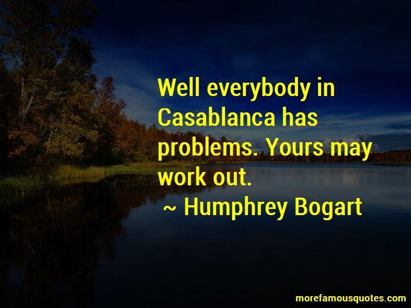 Quotes About Casablanca
