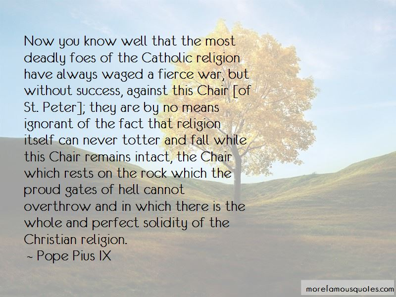 Quotes About Catholic Religion